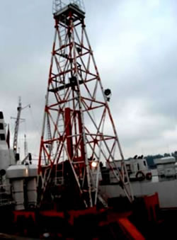 Sea Exploration Drilling Rig